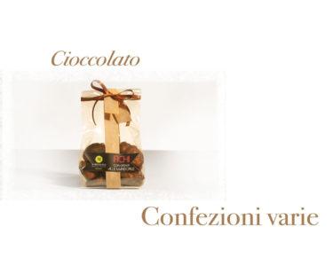 Confezioni varie a base di cioccolato