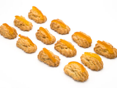 Paste secche di mandorla all'arancia